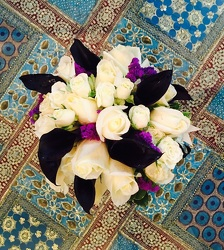Roses, Status & Black Callas from Arjuna Florist in Brockport, NY