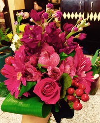 Lush Pinks from Arjuna Florist in Brockport, NY