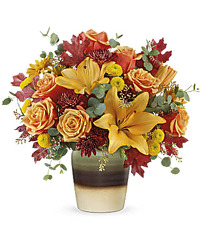 Teleflora's Rustic Sunrise Bouquet from Arjuna Florist in Brockport, NY