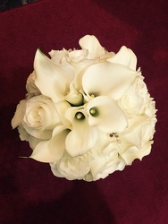 Simple, Elegant, Roses & Callas from Arjuna Florist in Brockport, NY