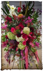 Arjuna Standing Spray from Arjuna Florist in Brockport, NY