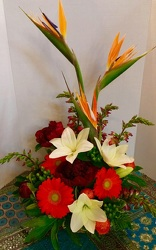 Birds & Daisies  from Arjuna Florist in Brockport, NY