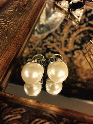 Pearl Earrings from Arjuna Florist in Brockport, NY