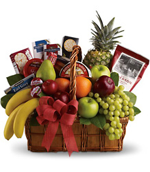 Bon Vivant Gourmet Basket from Arjuna Florist in Brockport, NY