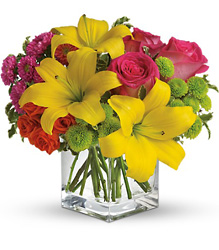 Teleflora's Sunsplash from Arjuna Florist in Brockport, NY