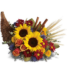 Classic Cornucopia from Arjuna Florist in Brockport, NY
