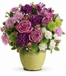 Teleflora's Spring Speckle Bouquet from Arjuna Florist in Brockport, NY