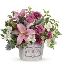 Teleflora's Monarch Garden Bouquet from Arjuna Florist in Brockport, NY