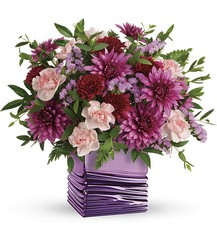Teleflora's Liquid Lavender Bouquet from Arjuna Florist in Brockport, NY