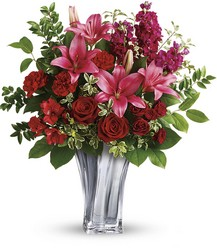 Teleflora's Sterling Love Bouquet from Arjuna Florist in Brockport, NY