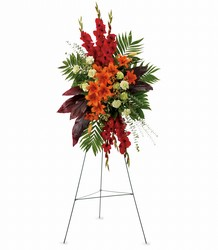 A New Sunrise Spray from Arjuna Florist in Brockport, NY