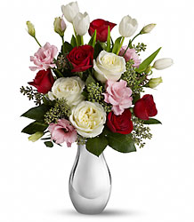 Teleflora's Love Forever from Arjuna Florist in Brockport, NY