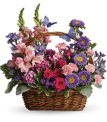 Country Basket Blooms from Arjuna Florist in Brockport, NY