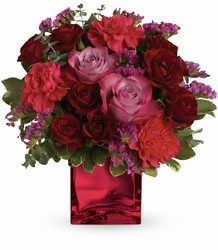 Teleflora's Ruby Rapture Bouquet from Arjuna Florist in Brockport, NY