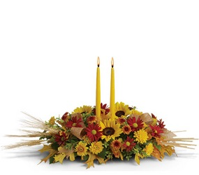Glory of Autumn Centerpiece from Arjuna Florist in Brockport, NY