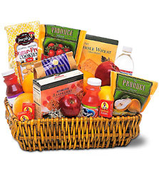 Healthy Gourmet Basket from Arjuna Florist in Brockport, NY